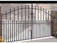 Brand new metal gates