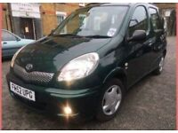 TOYOTA YARIS VERSO 1.3 ==== 5 DOOR MPV HATCHBACK