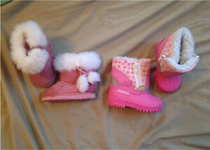 Toddler girls size 3 winter boots