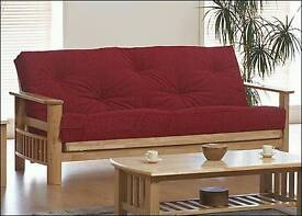 Sofa bed wooden