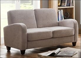 Julian Bowen Vivo Chenille 2 seater sofa NEW