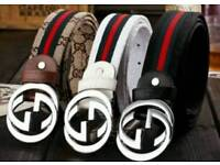 Gucci belts in 3 styles