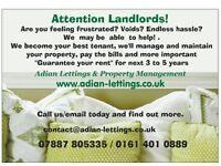 Looking for 3 or more bedroom properties in salford,Bury,Oldham,surrounding areas