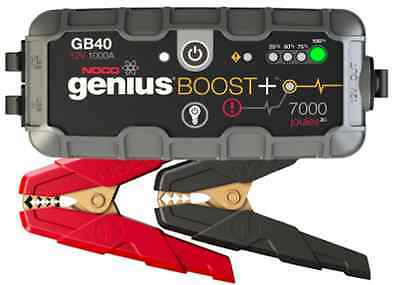 Noco Genius Boost  Gb40   12V 1000 Ultrasafe Lithium Jump Starter Pack