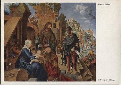 Alte Kunstpostkarte - Albrecht Dürer - Anbetung der Könige