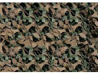 Camouflage Netting approx 16' x 4'