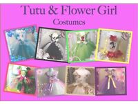 tutu's and flower girl dresses are handmade and tailored to your requirements.