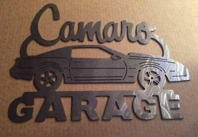 Camaro 3nd Generation Z28 83-92 Metal Garage sign  Garage sign Chevy art