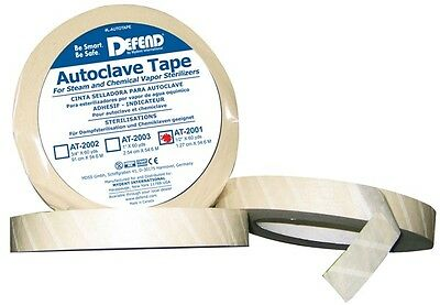 Defend Autoclave Tape 12 60yd Per Roll At-2001 Dental