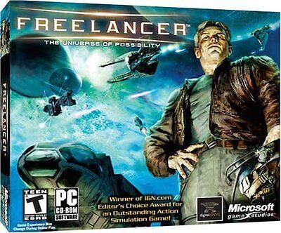 Microsoft Freelancer Pc Game Free Lancer Brand New Play Online Or Single Player