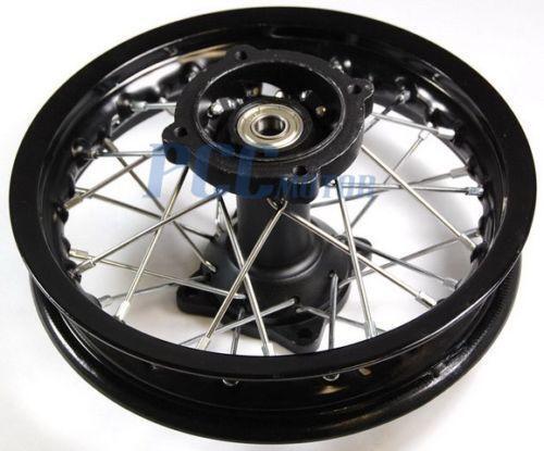 pit bike rear wheel 10 ebay. Black Bedroom Furniture Sets. Home Design Ideas
