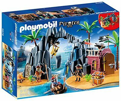 Playmobil 6679 Pirate Treasure Island with Lockable Jail Cell