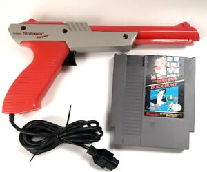 Nintendo ZAPPER gun (orange) -Duck Hunt Game