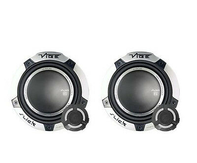 "VIBE 540W TOTAL 2WAY 6.5"" INCH 16.5cm CAR DOOR 2WAY COMPONENT SPEAKERS TWEETERS"