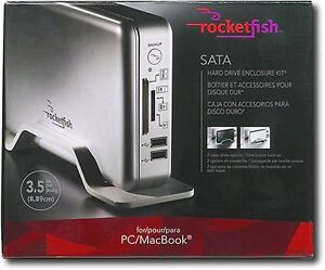 Rocketfish 3.5in External SATA Hard Drive Enclosure