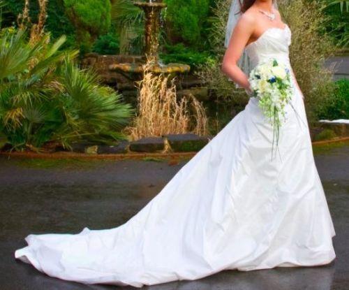 Benjamin Roberts Ivory Wedding Dress