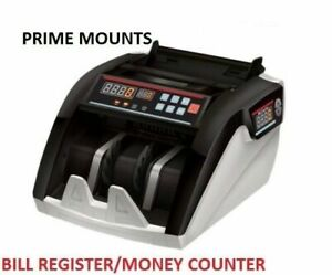 Bill Counter, does Counterfeit , UV light, polymer and paper bil