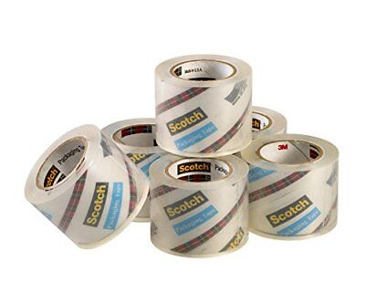 Scotch Easy Grip Packaging Tape Refill 6 Rolls Packing Box 1.88 X 900 Inches