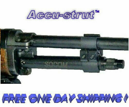 """Accu-Strut Fits on Ruger Mini 14/30 4"""" S O C O M (Blued Steel 1 Clamp)New!  AS-B"""