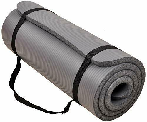 Exercise Yoga Mat with Carrying Strap  High Density Anti-Tea