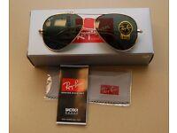 Ray Ban Aviator sunglasses genuine