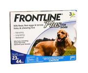 Frontline Plus for Dogs 23-44