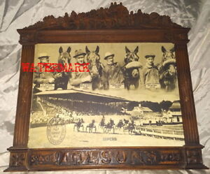 RARE CANADIAN/U.S. MOLSON HARNESS RACING C.P., c1938