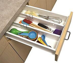 kitchen drawer dividers | ebay