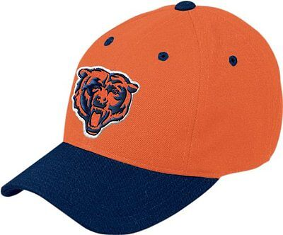 NFL Chicago Bears End Zone Retro Logo Wool Cap, One Size Fits All - Mens Chicago Bears End