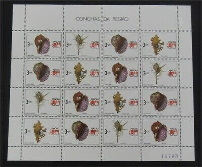 nystamps Macao Stamp # 647a Mint OG NH $52   L23y3362