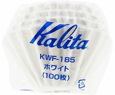 Kalita 22212 KWF-185 Wave 185 100P Paper Filter Size White