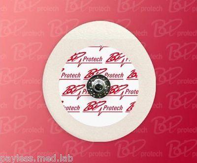 100 Pcs 50 Per Pouch Ecg Ekg Tens Snap Electrodes Foam 4345 Value Priced