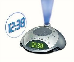 HoMedics Sound Spa Clock Radio & Sound Machine  with Time Projection