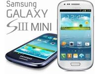New condition Samsung Galaxy S3 Mini - 8GB (Unlocked) Smartphone boxed
