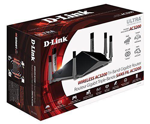 D-Link DIR-890L Wireless AC3200 Tri Band Gigabit Cloud Ultra