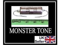 🎸WOW ALL GUITARISTS 4u2 Revitalise Bass OR Guitar pickups 0.047uf K40Y9 PAPER IN OIL 400v ToneCap