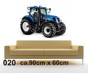 Wandsticker Traktor