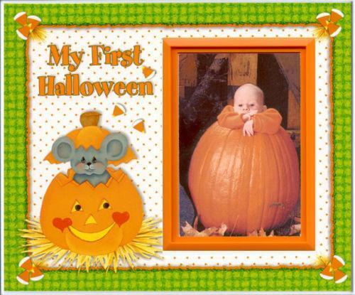 Halloween Picture Frame Ebay