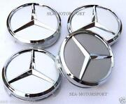 Mercedes Alloy Wheel Centre Caps