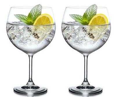 Big Coloured Gin Glasses
