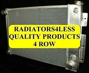 4 Row Aluminum Radiator