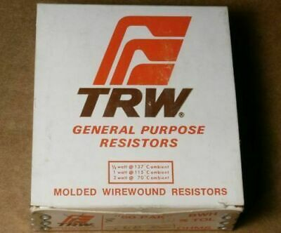 5 Pcs Trwirc Bwh Type Molded Wirewound Resistor 2w 10 15 Ohm Ohms