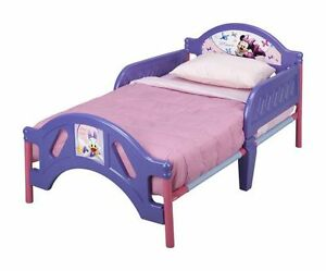 Minnie Mouse Toddler bed with Mattress and bedding