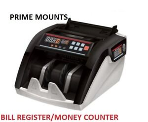 NEW Polymer Paper Canadian Currency Bill Counter