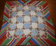 Vintage Silk Handkerchief