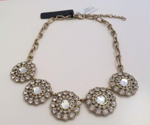 J crew circle necklace ebay for J crew jewelry 2015
