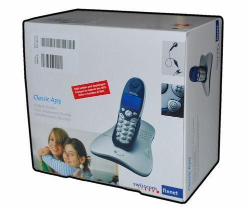 dect telefon mit headset ebay. Black Bedroom Furniture Sets. Home Design Ideas