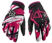 Pink Motorcycle Gloves