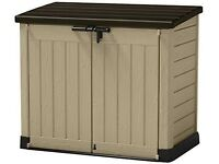 Keter Store It Out Max Resin Outdoor Garden Storage Shed - Beige and Brown xdisplay item RRP £149.99