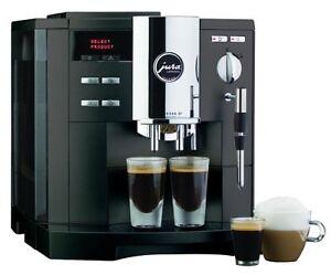 jura s9 capresso espresso s noir mousseur a lait machine à café